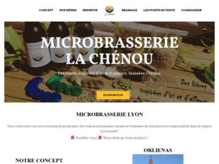 La Chénou : microbrasserie et espace de dégustation à Orliénas (69)