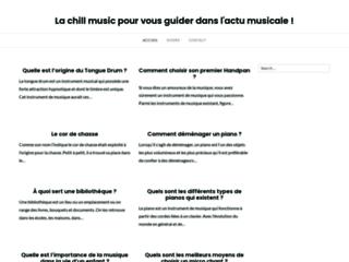 Détails : Chill Music, sélection quotidienne de savoureuses gourmandises auditives
