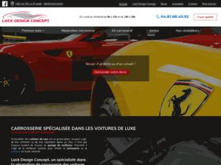 Détails : réparation de carrosserie à Mougins