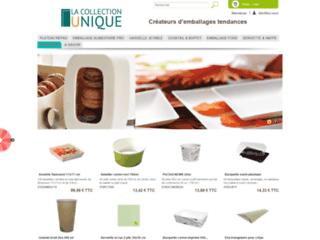 Détails : La Collection Unique : l'art de la table jetable et recyclable