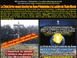 La Croix Glorieuse de Dozulé - Message Réalisé