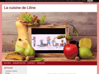 La cuisine de Liline