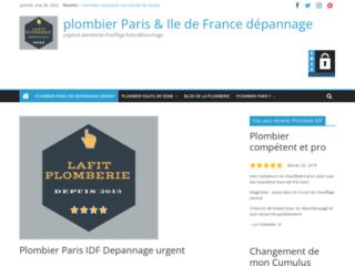 Lafit Plomberie, meilleur plombier en Ile de France