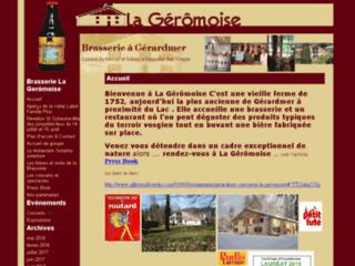 La Géromoise : Brasserie dans les Vosges, restaurant lac de Gérardmer