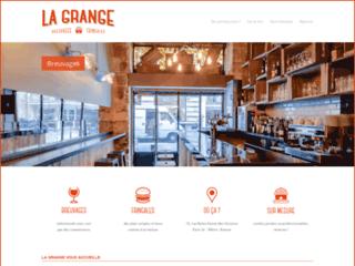 Détails : Bar La Grange à La Bourse