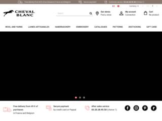 Détails : Laine Cheval Blanc, boutique de vente de fils, de laines et des produits de mercerie