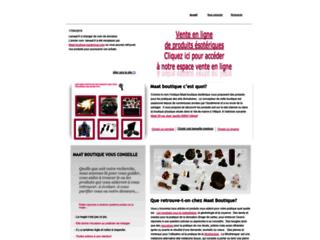 Détails : Maat boutique ésoterique