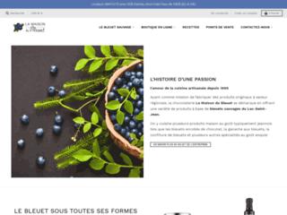 confiture bleuets et rhubarbes