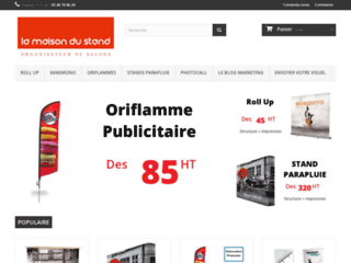 Acheter un stand pop-up