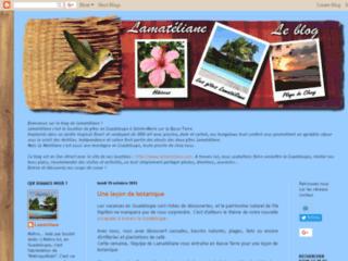 Lamatéliane Guadeloupe, le blog