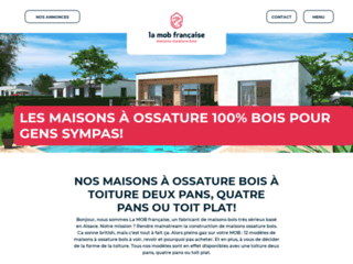 La construction de votre maison ossature bois avec La MOB française