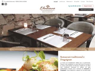 Restaurant traditionnel à Draguignan