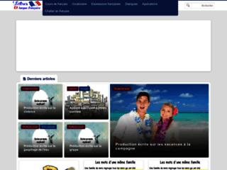 Lettres et langue française