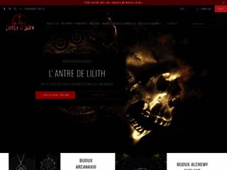 L'Antre de Lilith: votre boutique gothique en ligne