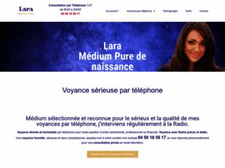 Voyance sérieuse par téléphone avec Lara Médium Pure