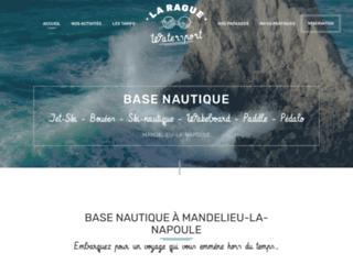 Les sports nautiques à La Rague