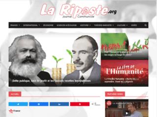 Détails : La Riposte - Journal communiste et analyses marxiste