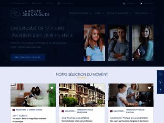 Détails : La Route des Langues: pour des séjours linguistiques bien organisés