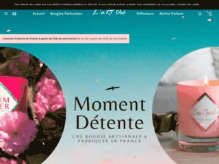 L'aRt Osé créateur d'ambiance Bougies Parfumées Décoratives