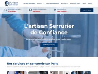 L'artisan Serrurier, la spécialiste des serrures à Paris