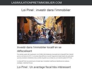 Détails : Simulation pret immobilier