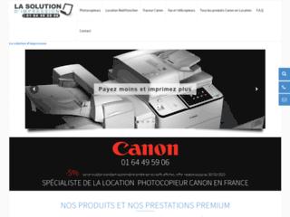 Détails : Location des photocopieurs Canon de meilleure qualité