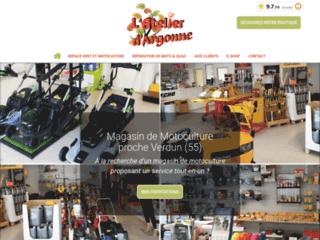 L'Atelier d'Argonne : Magasin de motoculture et réparation de motos et quads près de Verdun