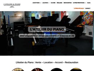 L'Atelier du Piano réparation de piano Lille 59