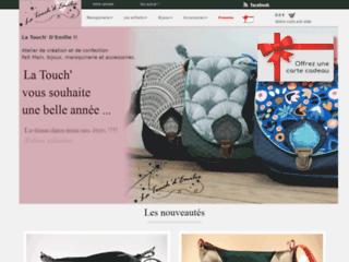 Détails : La Touch' D'Emilie, le tissu dans tous ses états