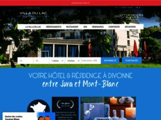 Détails : Hôtel Genève 3 étoiles : La Villa du Lac