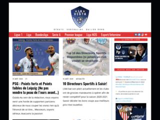 La Vista Football : actualité football