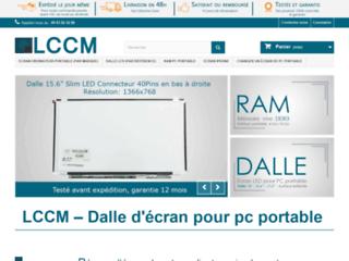 LCCM, vente de dalle LCD pour PC portable