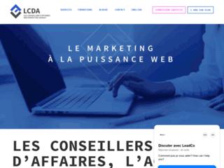 Détails : lesconseillersdaffaires.ca : webmarketing