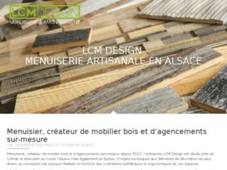 Menuisier LCM Design en Alsace