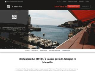 Restaurant LE BISTRO à Cassis, près de Aubagne et Marseille