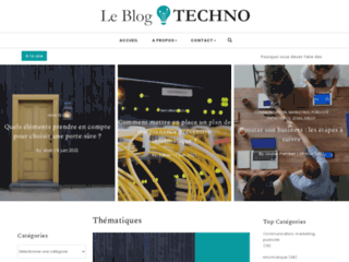 Le blog techno