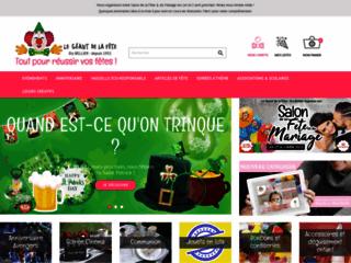 Le Géant de la Fête, magasin de vente d'articles de fête