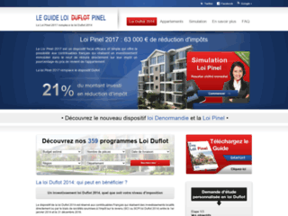 Détails : Loi Duflot, immobilier, investissement et défiscalisation