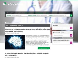 Détails : Meilleur guide de santé en France