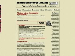 Le mariage gris pour les nazes