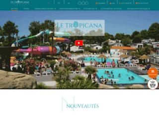 Le Tropicana, le meilleur camping équipé de parc aquatique