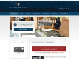 Restaurant à Dreux: le Vallon de Cherisy