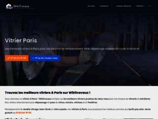 Détails : vitrier paris | artisan vitrerie et miroiterie paris