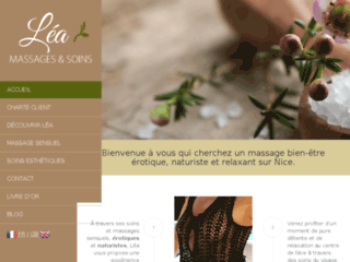 Léa, votre centre de massages sensuels sur Nice