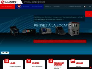 Location, vente et rachat d'appareil de mesure et test