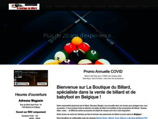 Détails : Magasin de billard Belgique