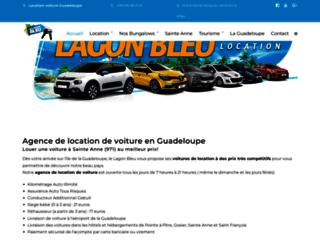 Détails : Location de vacances : le lagon bleu