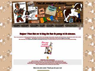 Le blog de Fanny M., fan de poneys et de chevaux