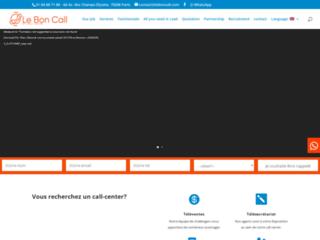 Détails : Le bon call, centre d'appel
