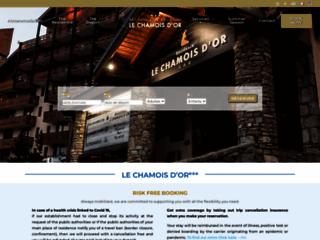 Détails : Le Chamois d'Or, location d'hébergements meublés à Val Thorens
